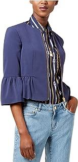 Women's Peplum Zip Faux-Moto Jacket