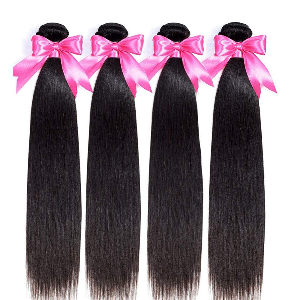 Mariska 10A Straight Human Hair Brazilian Bundles Virgin St Jacksonville Mall Courier shipping free shipping