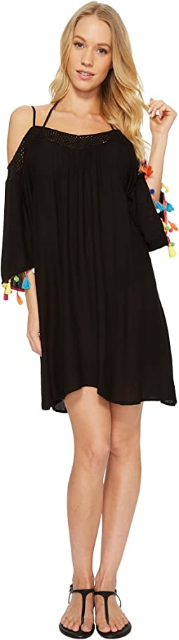 Nanette Lepore - Cha Cha Cha Off the Shoulder Dress Cover-Up