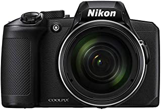 Nikon 26528B COOLPIX B600 16MP 60x Optical Zoom Digital Camera w/Built-in Wi-Fi - Black - (Renewed)