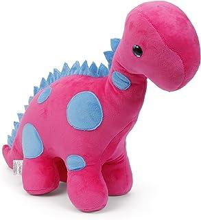 Benny & Bunny Soft Toy - Dino (Raini Pink) - 31 cm