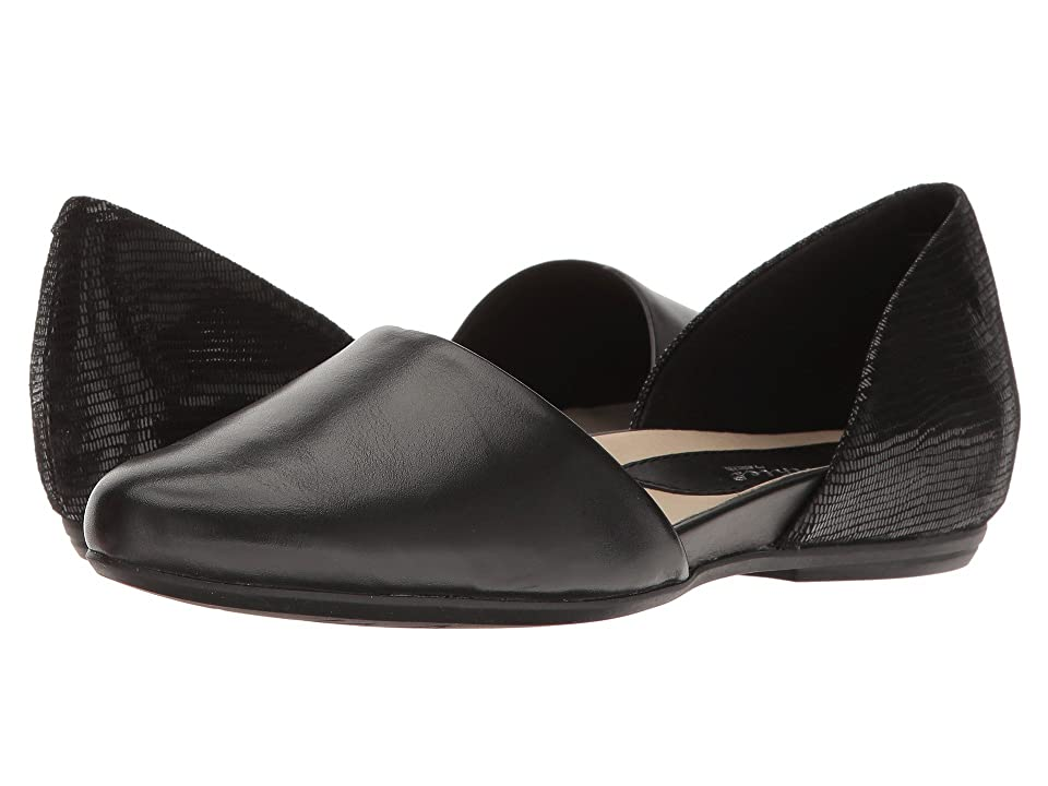 Earth Brie Earthies (Black Soft Leather) Women
