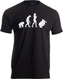 Evolution of The Photographer   Cute, Funny Photography Unisex T-Shirt