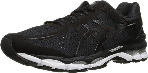 ASICS Hommes's GEL-Kayano 22 FonctionneHommest chaussures, noir Onyx argent, 6.5 M US