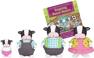 Li`l Woodzeez Moosicalmoo Cow Family 5 Piece Set