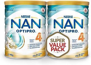 Nestlé NAN OPTIPRO 4 Twin Pack, 900 Grams (Pack of 2)