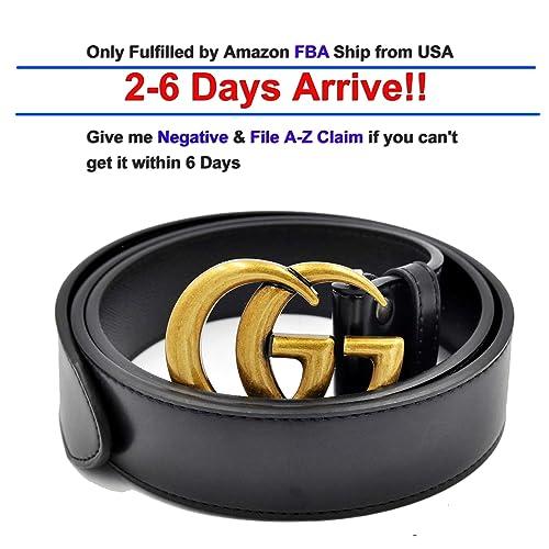 07406c9a6e3 Luxury Designer GG Slim Belt for Women Or Men Unisex  3.8CM width