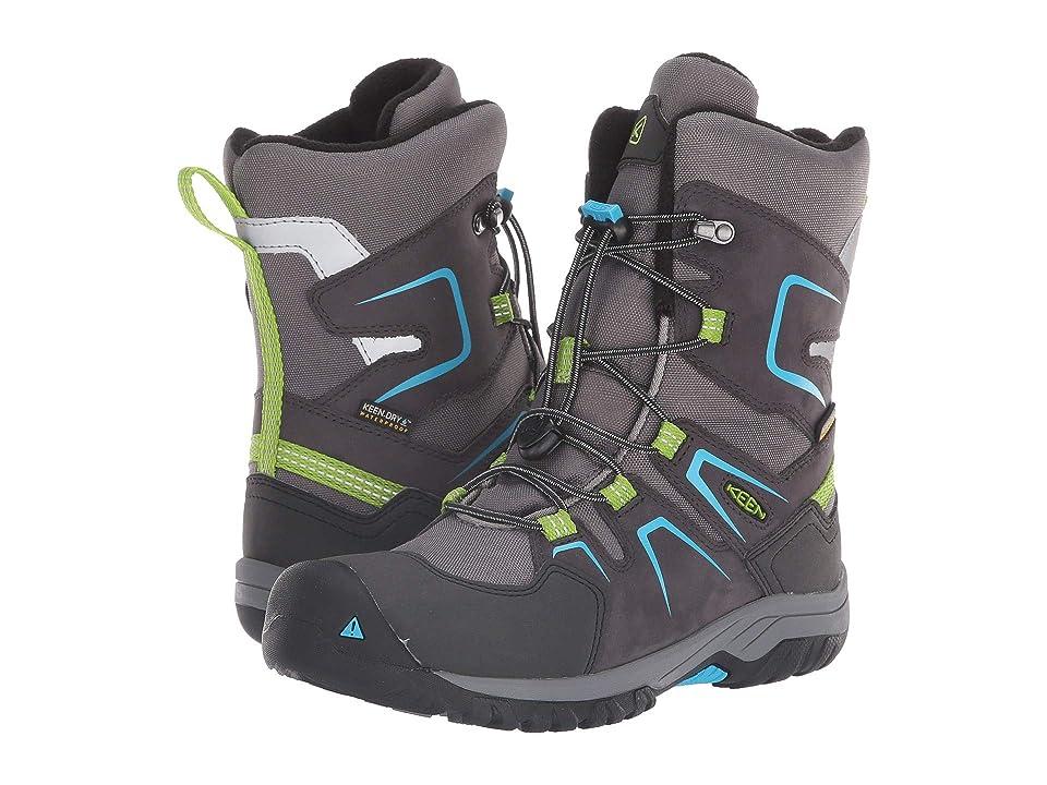 Keen Kids Levo Winter WP (Little Kid/Big Kid) (Magnet/Blue Jewel) Boys Shoes