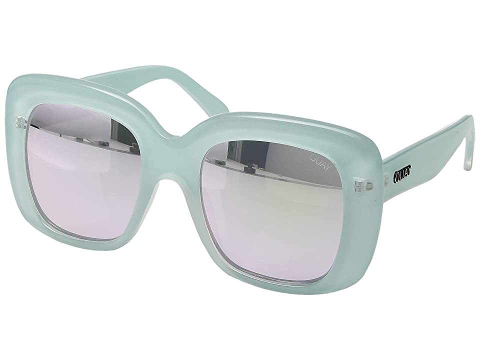 Retro Sunglasses | Vintage Glasses | New Vintage Eyeglasses QUAY AUSTRALIA Day After Day MintMint Fashion Sunglasses $55.00 AT vintagedancer.com
