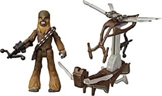 Star Wars Mission Fleet Gear Class Chewbacca Beachfront Barrage 2.5-Inch-Scale Figure and Vehicle, Toys for Kids Ages 4 an...