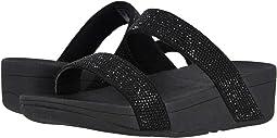 f012754c745a Black Black 2. 6. FitFlop. Lottie Shimmer Crystal Slide