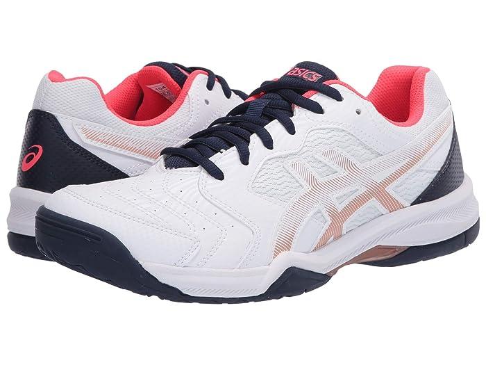 ASICS  GEL-Dedicate 6 (White/White) Womens Tennis Shoes