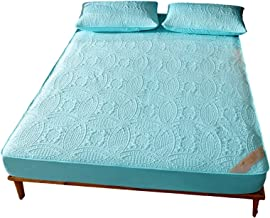 Waterproof Bed Sheet Mattress Cover Anti-Wrinkle Fade Resistant Encasement Elastic Deep Pocket Wrinkle and Hypoallergenic...