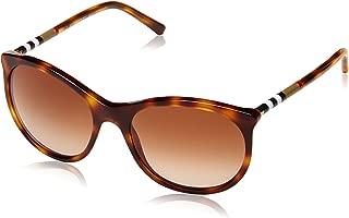 Burberry Erika Women's Sunglasses -Brown BE414533161355-55-18-140 mm