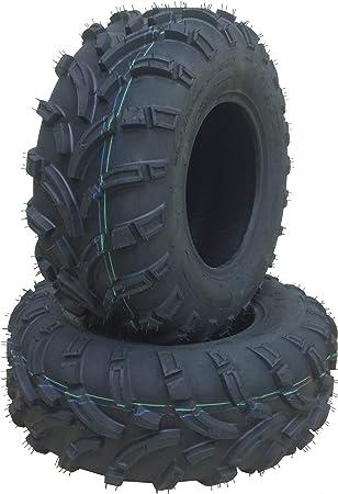 Set 4 WANDA ATV tires 25x8-12 /& 25x11-10 for 97-02 Polaris Xplorer 400L 4x4 P350