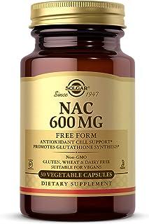 Solgar – NAC 600 mg, 30 Vegetable Capsules