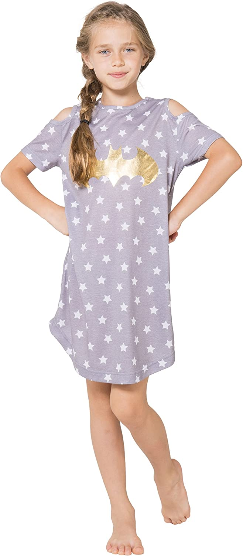 Warner Bros BATMAN Batgirl Dorm Shirt Nightgown Juniors Pajama