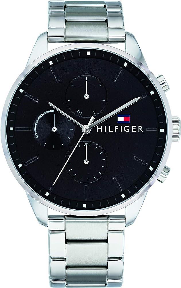 Tommy hilfiger multi-quadrante orologio uomo 1791485