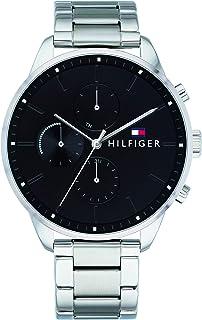 Tommy Hilfiger Mixte Multi-cadrans Quartz Montres bracelet avec bracelet en Acier Inoxydable - 1791485