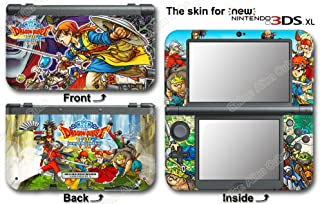 Dragon Quest VIII Journey of Cursed King Skin Sticker Cover #2 for NEW 3DS XL