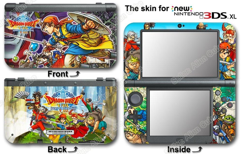 Dragon Journey Cursed Sticker Nintendo DS