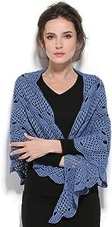 ZORJAR Women Wool Knitted Scarf Crochet Triangle Fashion Scarf New Design