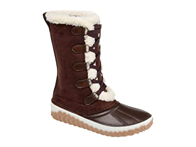 Journee Collection Comfort Foam Blizzard Winter Boot (Brown) Women