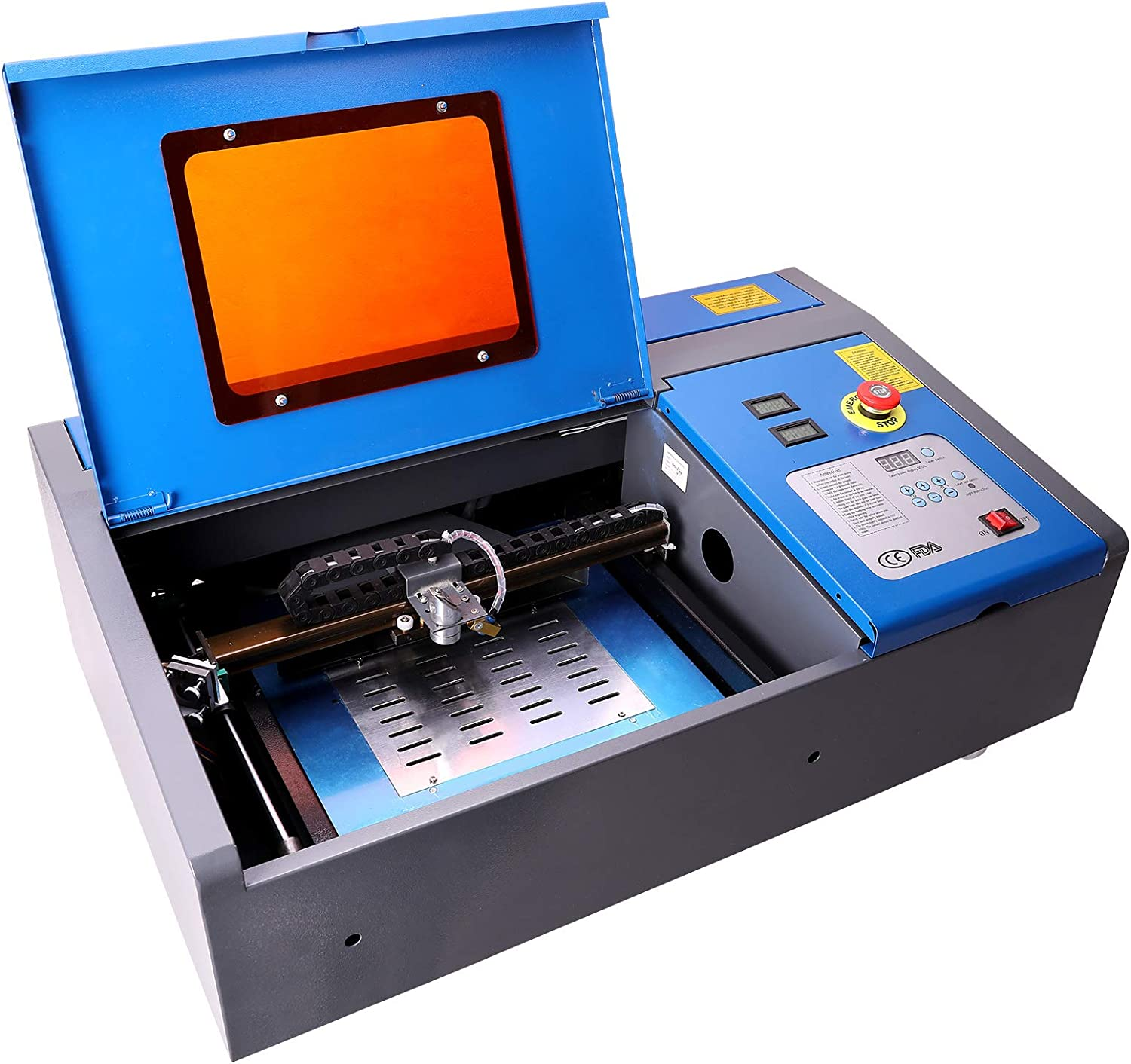 low-pricing OMTech 40W CO2 Laser Engraver Cutter with De 8 service 12in Area x Work