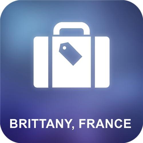 Bretaña, Francia Offline Mapa