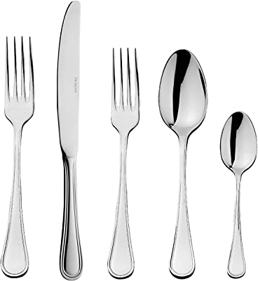 DEGRENNE - Confidence Mirror Flatware 5 Pieces Set, Stainless steel