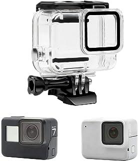 Yangers waterdichte beschermhoes behuizing accessoires voor GoPro Hero 7 Silver/White Model Action Camera, siliconen onder...