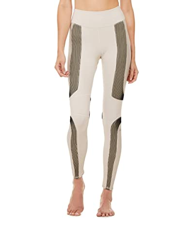 ALO High-Waist Electric Leggings (Bone) Women