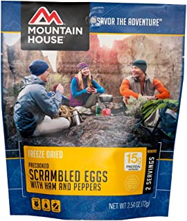 Mountain House Scrambled Eggs with Ham & Peppers