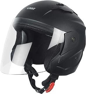 virgo Helmet ISI Certified xR_ Color Black Matt finish visor color Clear