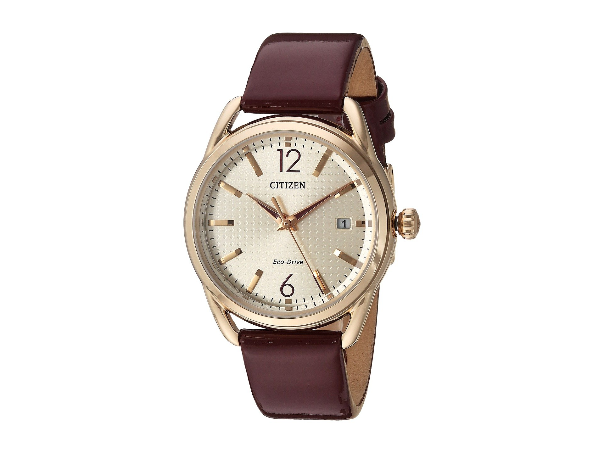 movement watches leather pink with dial womens strap quartz watch white shinola gomelsky and
