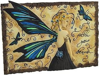 Jessica Galbreth Follow Your Dreams Wall Plaque