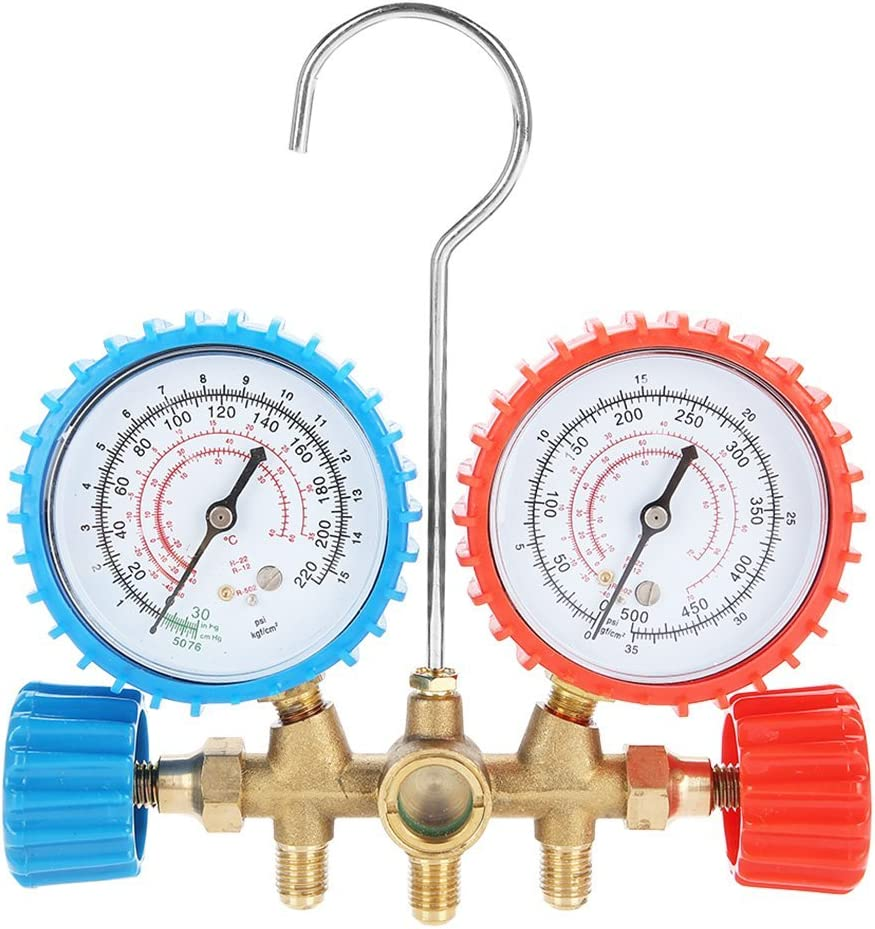 AC Opening large release sale List price Diagnostic Manifold Freon Gauge Set Refrigerant Condition Air