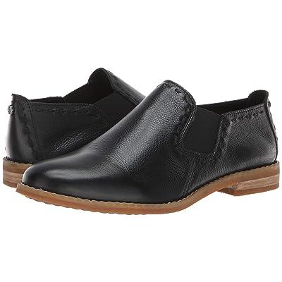 Hush Puppies Chardon Slip-On (Black Leather) Women