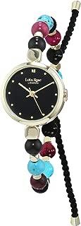 Lola Rose Womens Analogue Classic Quartz Watch with Textile Strap LR4016