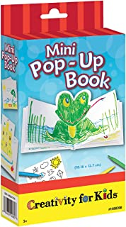 Creativity for Kids Mini Pop Up Book Craft Kit - Make Your Own Hardcover Mini Book