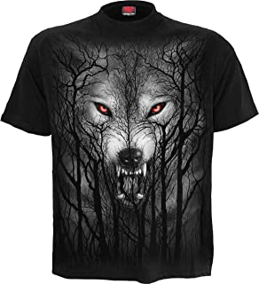 Spiral Mens Forest Wolf T-Shirt