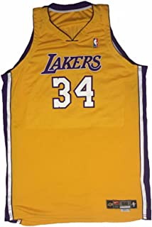 Shaquille O'Neal Game Worn Jersey 1999-2000 NBA Finals Championship Season LOA - NBA Game Used Jerseys