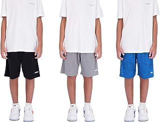 شلوارک بسکتبال پسرانه 3 بسته ای ، شلوارک ورزشی مناسب برای پسران