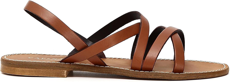 CAFèschwarz Damen Kge137 Slingback Sandalen, 109 Cuoio, 40 EU  | eine breite Palette von Produkten  | Speichern  | Discount