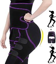Waist Trainer, 3 in 1 Thigh Trimmer for Women Weight Loss Everyday Wear, Butt Lifter High Waist Enhancer Plus Size