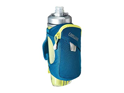 CamelBak 17 oz Quick Grip Chill Handheld (Corsair Teal/Sulphur Spring) Backpack Bags
