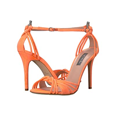 SJP by Sarah Jessica Parker Willow (Creamsicle Orange Suede) Women