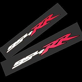 Twisted Melon Fireblade 954 RR Rote, weiße und Schwarze Reflective Motorradgrafiken