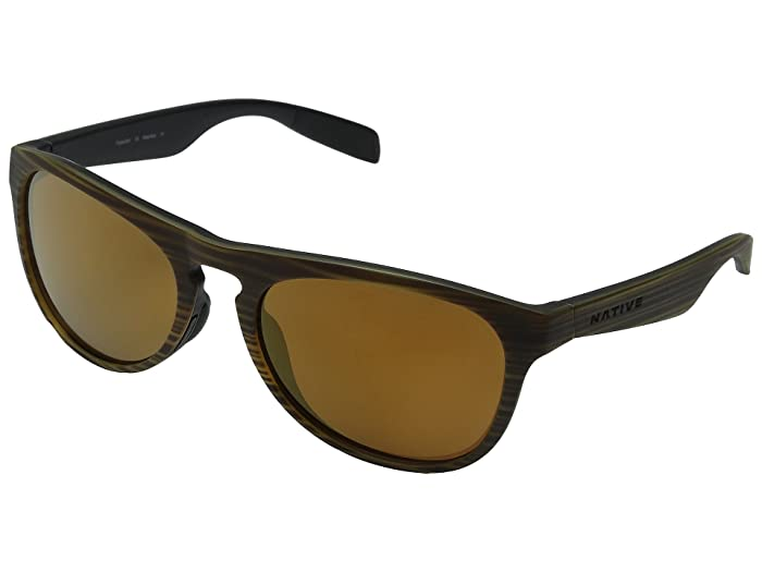 Native Eyewear Sanitas (Wood/Black/Bronze Reflex) Sport Sunglasses