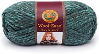 Lion  640-526 Wool-Ease Thick & Quick Yarn , 97 Meters, Blueberry